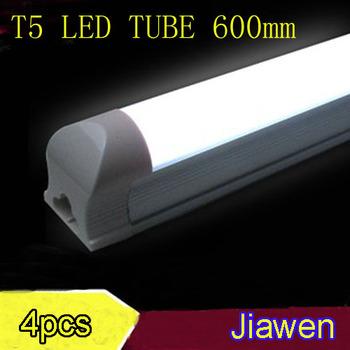 4pcs/lot LED TUBE light  t5 9w 600mm 85-265v t5 tube led fluorescent light SMD 3014  free shipping