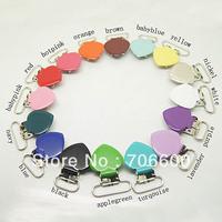 200pcs per lot,heart shape suspender clip,mixed colors wholesale Suspender Clip,Suspender Clips Suppliers & Manufacturers