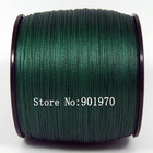 FREE SHIPPING&DISCOUNT!!  4strands  braided fishing line 300m 30lb green ONLY $8.99/PCS(Hong Kong)
