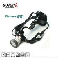 Glaree palea d3 3 outdoor headlight glare fishing lamp Dual light source