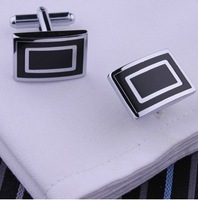 C032 Fahion  stainless steel  cufflinks men's cufflinks simple shirt cuff links