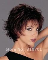 Free Shipping beautiful fashion Mixed colors short wig wigs