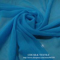 100% Silk Georgette Fabric Material Beautiful Fashion color Fabric Textile wholesale