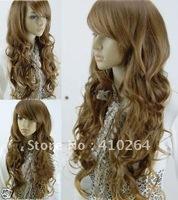 free shipping siempre las mujeres rubias naturales Brown peluca cabello sano wig