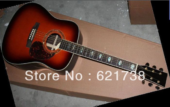 best 2011 new arrival D40 D45 Mar tin Vintage Acoustic Guitar Dorsal rosewood veneer(China (Mainland))