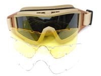 Tactical revision desert locusts goggles ESS riding glasses Dark Earth free shipping