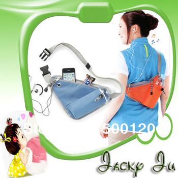 3pcs Free Shipping New Sports Casual Fashion Bag Waist Pack Travel Portable Bag Belt Bag Bottle Storage Bag Multifunctional Bag