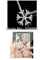Free shipping-10pcs/lot 2013 fashionsnowflake diy mobile phone cover Accessories,mobile phones beauty, jewelry decoration