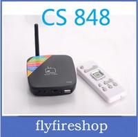 CS848 Android 4.1 TV Box,Dual core CPU,RAM 1GB,HDMI,RJ45,HDD 8GB,Bluetooth 2.1,802.11B/G/N WIFI+10pcs/lot+Drop shipping