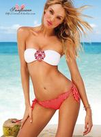 New arrival! ladies' swimsuit/ swimwear/ beachwear/bathing suits/bikini sexy set crystal design free shipping