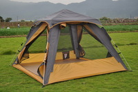 Ultralarge fully-automatic tent outdoor camping tent outdoor camping tent 3-4 person