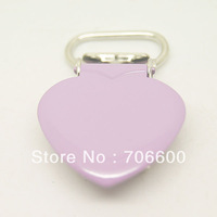 200pcs per lot,heart shape suspender clip in Lavender color,wholesale Suspender Clip,Suspender Clips Suppliers & Manufacturers