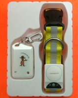 Free Shipping  10pcs/lot Pet Safety Electronic Pet Lost Alarm Pet Anti Lost Reminder Finder