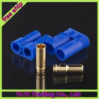 Register free shipping ! 30pair/lot EC5 Bullet Connectors Plugs Male / Female - Losi