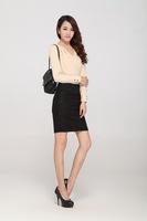 Women's new Thick woolen skirt fashion A-line dress skirts