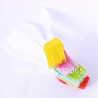 Free shipping heat resistance silicone brush, butter / sweep / cake /bread /BBQ brush high quality grill brush pastry brush