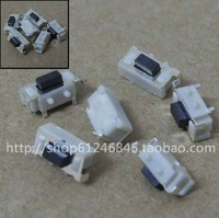 Free shipping 2x4mm push button switch, micro switch, touch switch,   MP3 MP4 MP5 Tablet PC commonly used  push button switch