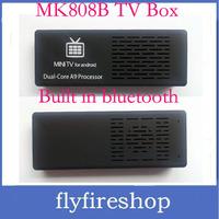 Android 4.2 MK808B Bluetooth Mini PC RockChip RK3066 Dual Core Cortex-A9 1.6GHz 1GB / 8GB Google TV MK808 II Free Shipping