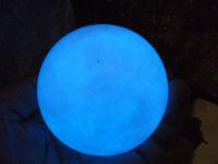 470g (1.03 lb)  White Jade Stone Glow In The Dark Stone Ball China T056