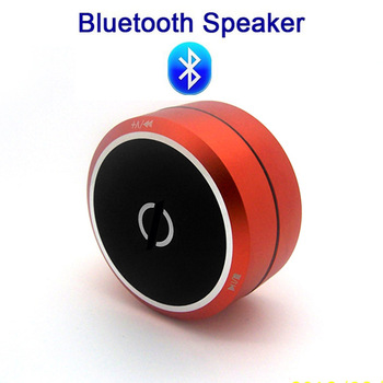 Free Shipping Hot Bluetooth 2.1 Orange Wireless TF Card Speaker For iPhone/iPad/Cellphone/MP3/MP4