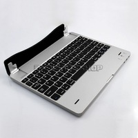 wholesale lote magnetic design bluetooth keyboard for Ipad2/New ipad multiangle adjustment free shipping
