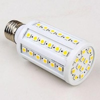 2013 Hot sale!Retail CE&RoHS 110-240v 360 degree 4w 5W 7W 10W 14W 18W 30W E27 e14 b22 5050 SMD Corn Light Bulb LED Lamp lighting
