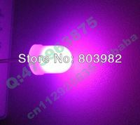 (CE&Rosh)Good quality Beautiful PINK 10MM LED 3.0-3.5V ROUND DIP LED Milky white LED