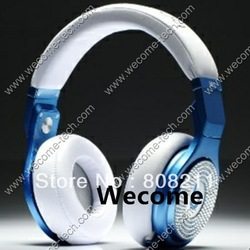 Diamond pro headphone,DJ pro headphones,noise cancelling headphones,free shipping,blue/red color(China (Mainland))