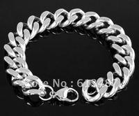 Wholesale&Retail Hot Sale Bangles 316L Stainless Steel Cowboy Bracelet Fashion Jewelry 76g 1pcs FREE SHIPPING