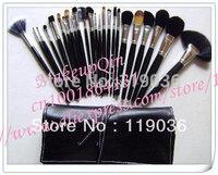 Free Shipping !NEW Makeup Brush 24 pcs Set + Pouch (1 pcs/lots)1pcs brusher brushes