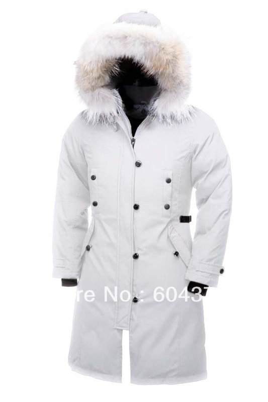 Free Shipping Ladies Goose Kensington Down Jacket Womens Winter Parka Coat Warm Winter Jacket Fur Collar Lady Down Coat(China (Mainland))