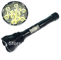 13000Lumens TrustFire 12 x CREE XM-L XML T6 LED Flashlight Torch for Hunting, Outdoor, Camping, 5 Mode