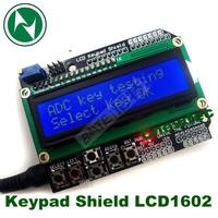 LCD Keypad Shield LCD1602 LCD 1602 Module Display For ATMEGA168 ATMEGA328 ATMEGA2560 ATMEGA1280 UNO blue screen