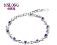 520 shemist silver bracelet 925 pure silver female pure silver fashion silver jewelry silver birthday