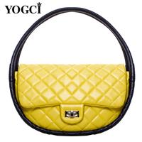 Yo for gc i 2013 women's handbag fashion dimond fashion plaid circle bag hula hoop bags