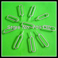 wholesale 1000pcs/lot  Sim Card Tray Holder Eject Pin for iPhone and mobile phone silver color