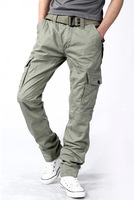 Saurognathous 2013 spring trousers male slim casual pants male 100% cotton overalls trousers spring