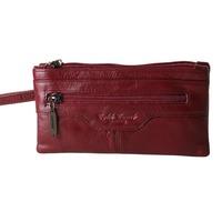 Female long design evening bag day clutch female wallet cowhide women's wallet women's clutch