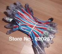DHL EMS Free shipping 200pcs lot 12mm WS2801 digital led pixel module IP66 DC5V input 0.3W full 24 bit color