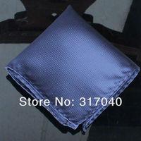 Free Shipping Marriage Hankerchiefs Men's Dk Blue Stripes hanky /party hankies/pocket squares