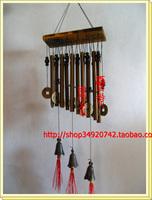 Copper wind chimes wind chimes apotropaic