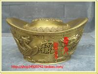 Copper ingot copper gold ingot fortune ingot decoration
