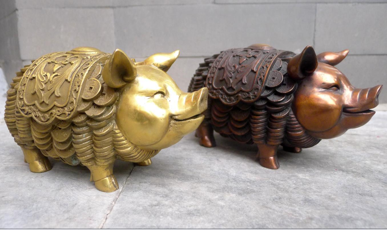 Decor pig promotion online shopping for promotional decor for Pig decorations for home