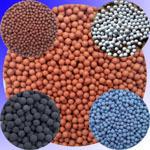 Tourmaline ball tourmaline mineralization ball purification aquarium gray , 8