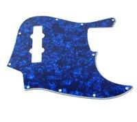 1pcs Jazz Bass JB Style JB Pickguard 3Ply Pearl Blue M691