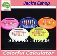 Colorful Hamburger Style Calculator Free shipping
