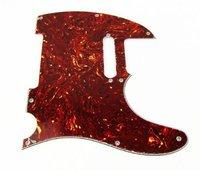 1pcs Guitar Pickguard Tele Style Guitar Pickguard Brown Tortoise Shell 3Ply M648