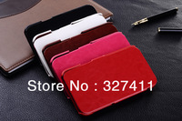 Luxury Genuine leather for samsung galaxy note 2 ii smart wallet leather case for N7100 with stand function cover case for N7100