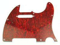 1pcs Red Tortoise Pickguard for Tele Style Guitar M466