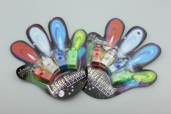 500pcs/lot Free shipping laser finger light,LED Finger Light,Laser Finger Lamp,Beams Ring Torch For Party (4pcs/pack) wholesale(China (Mainland))